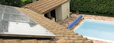 Installation chauffe eau solaire Génissieux Drôme