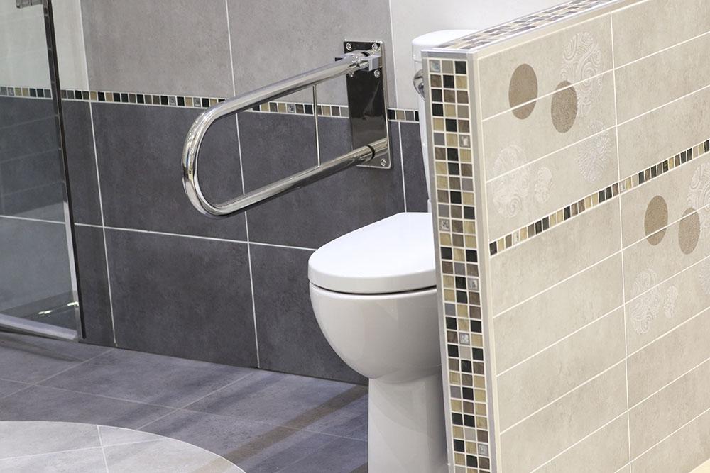 Installation salle de bains PMR Génissieux Drôme