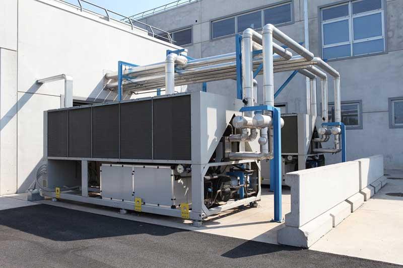 Installation pompe à chaleur pour secteur industriel Génissieux